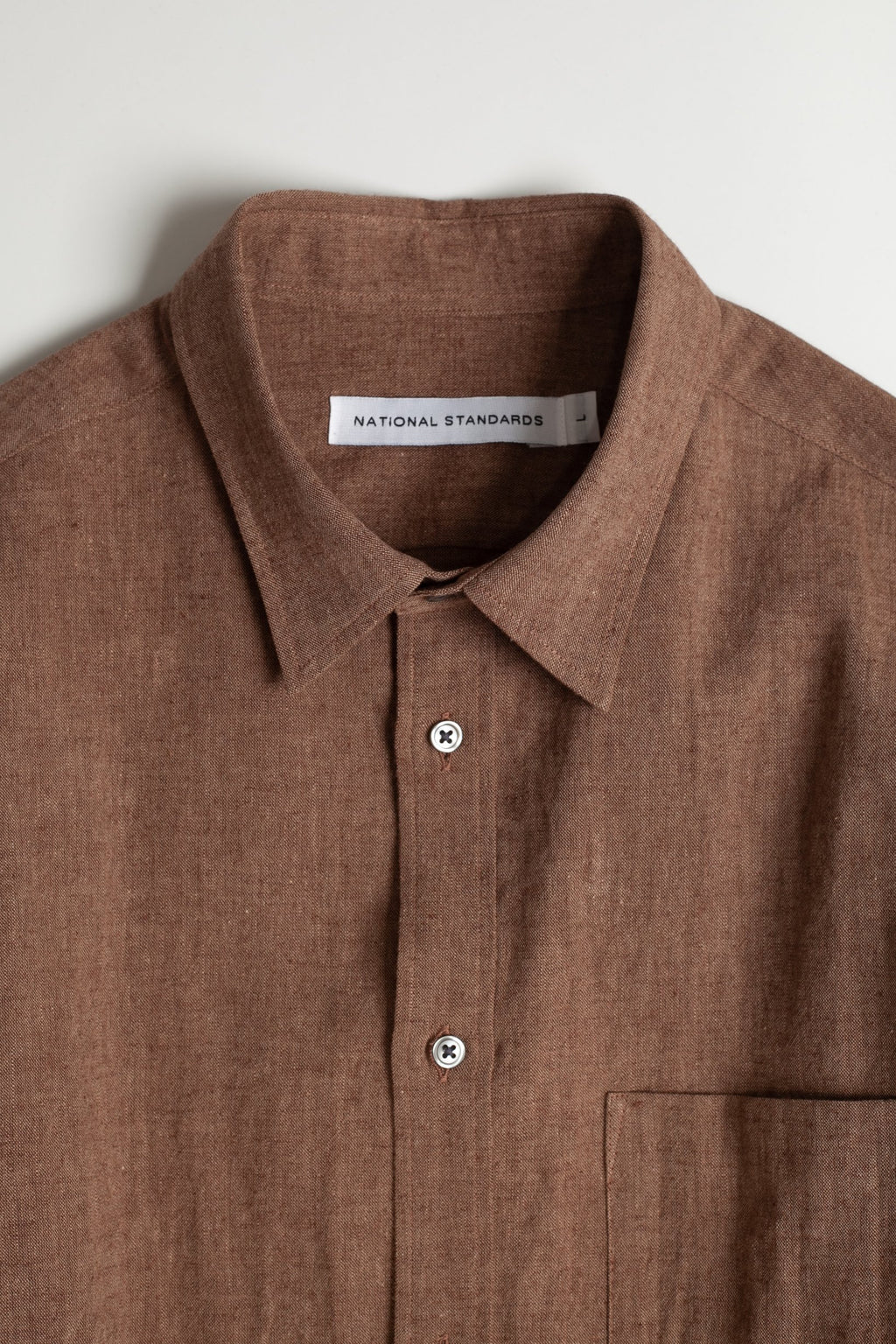 Japanese Euro Linen in Brown 05
