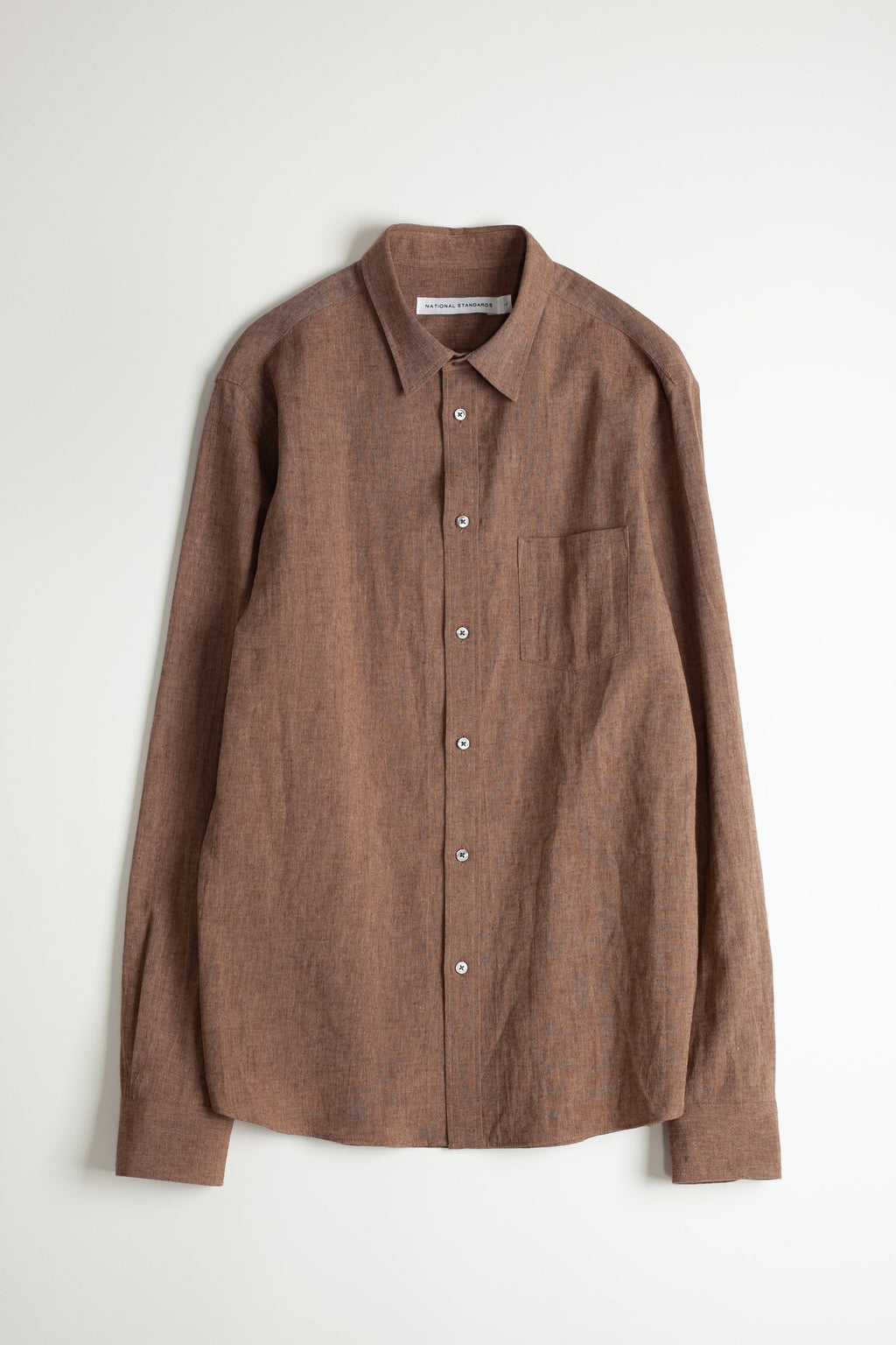 Japanese Euro Linen in Brown 06