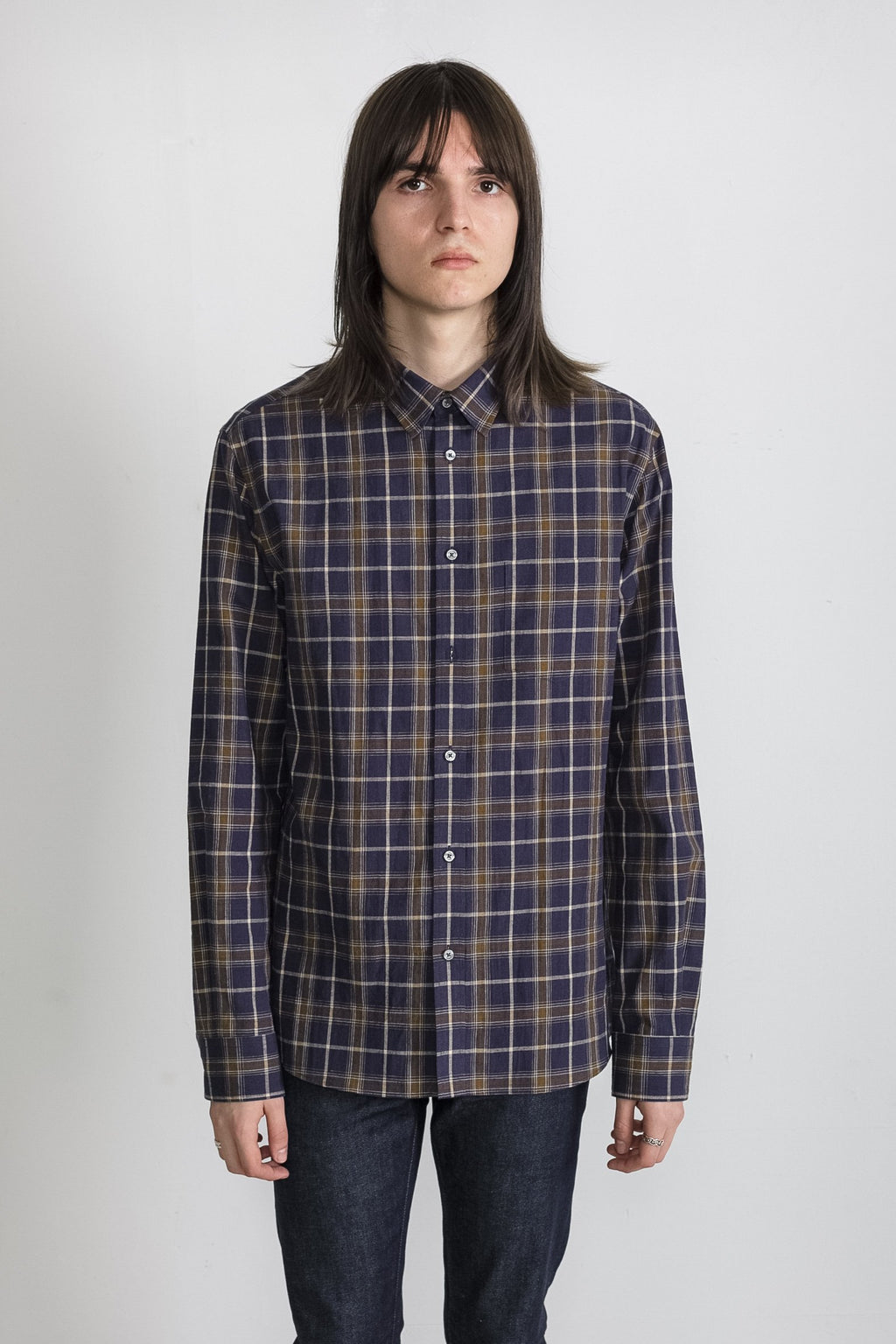 japanese-vintage-plaid-in-blue-and-brown 01