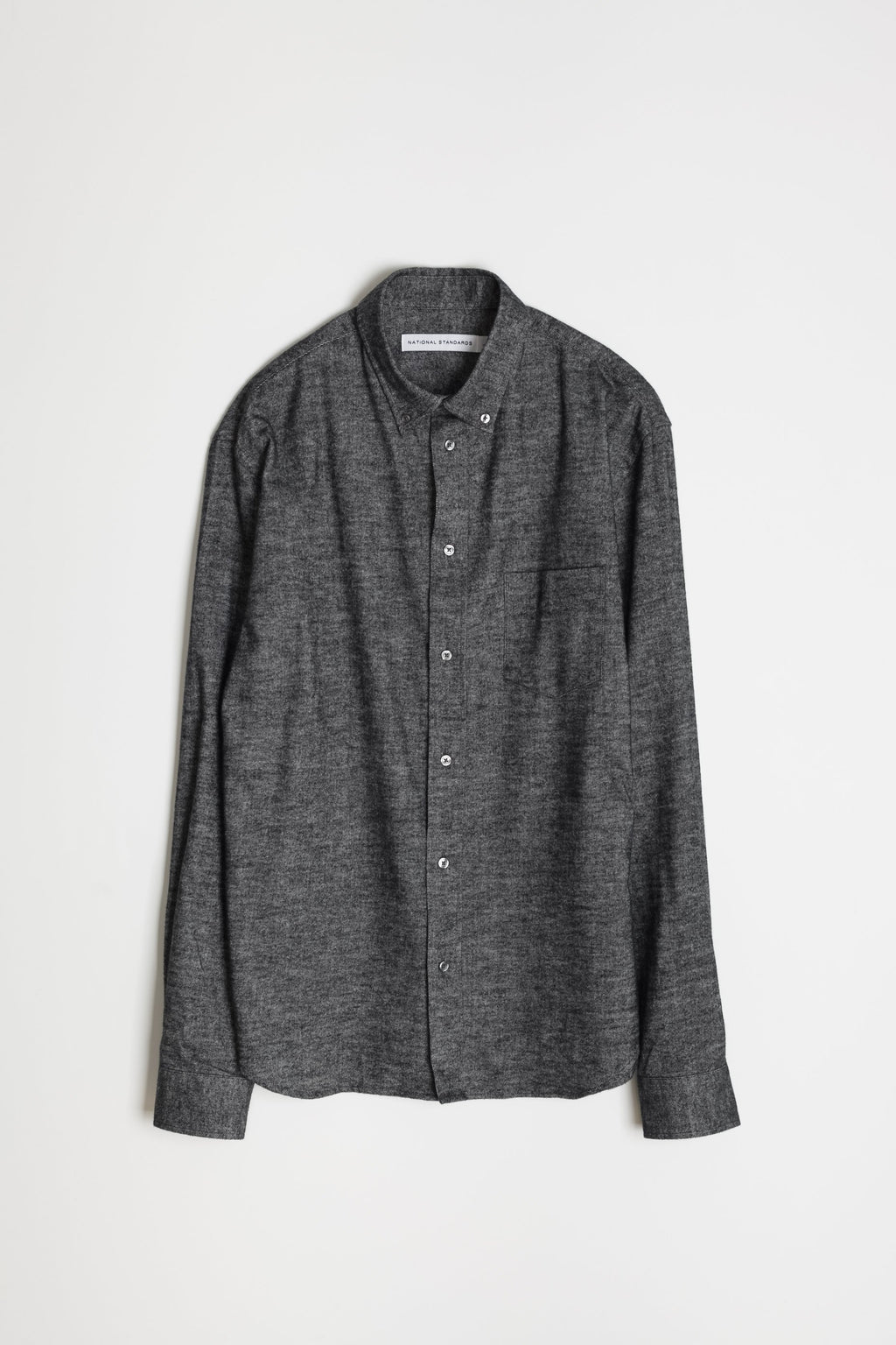 Japanese Brushed Twill Flannel in Black 06