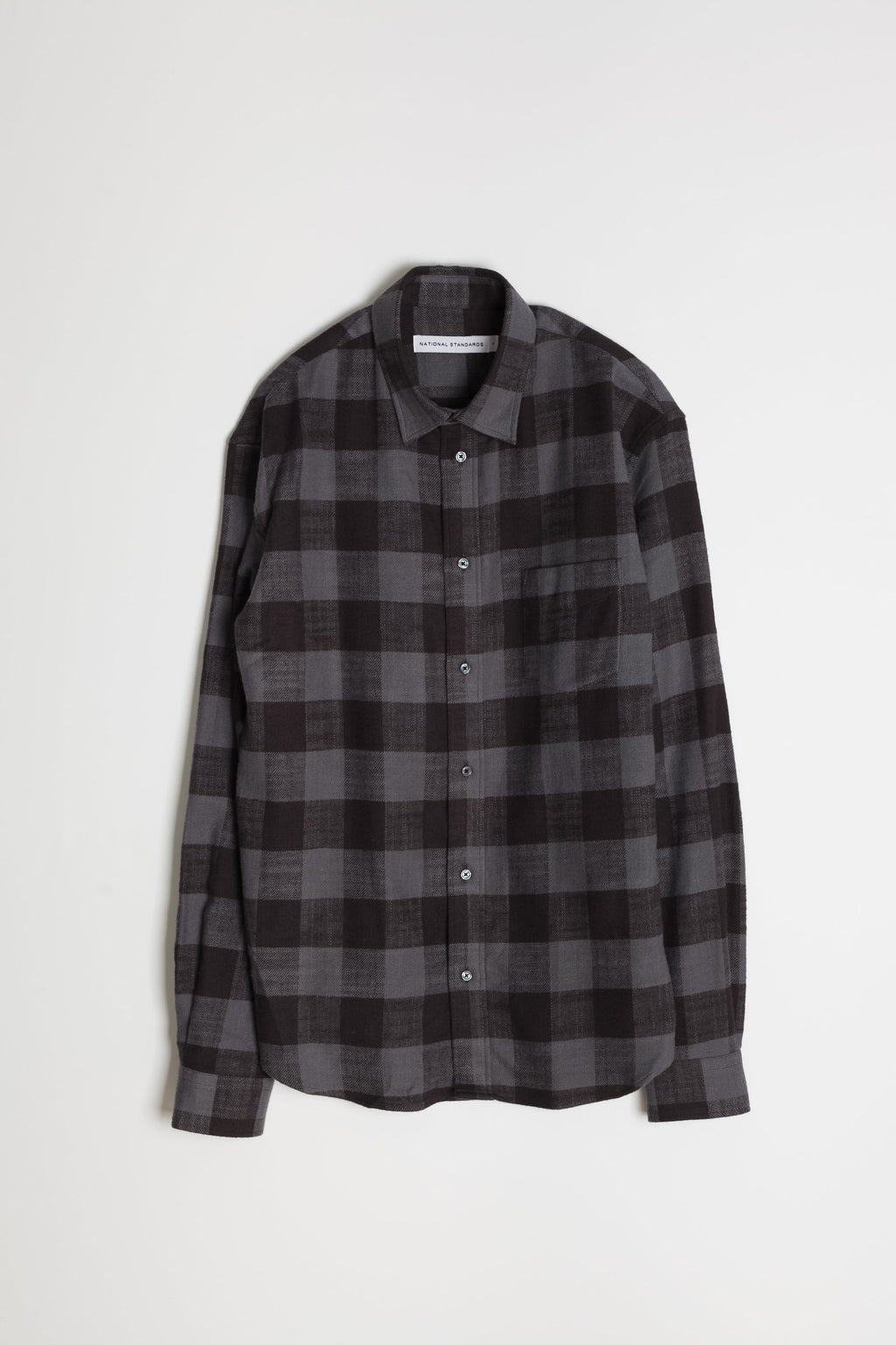 Japanese Buffalo Plaid in Grey and Black 06