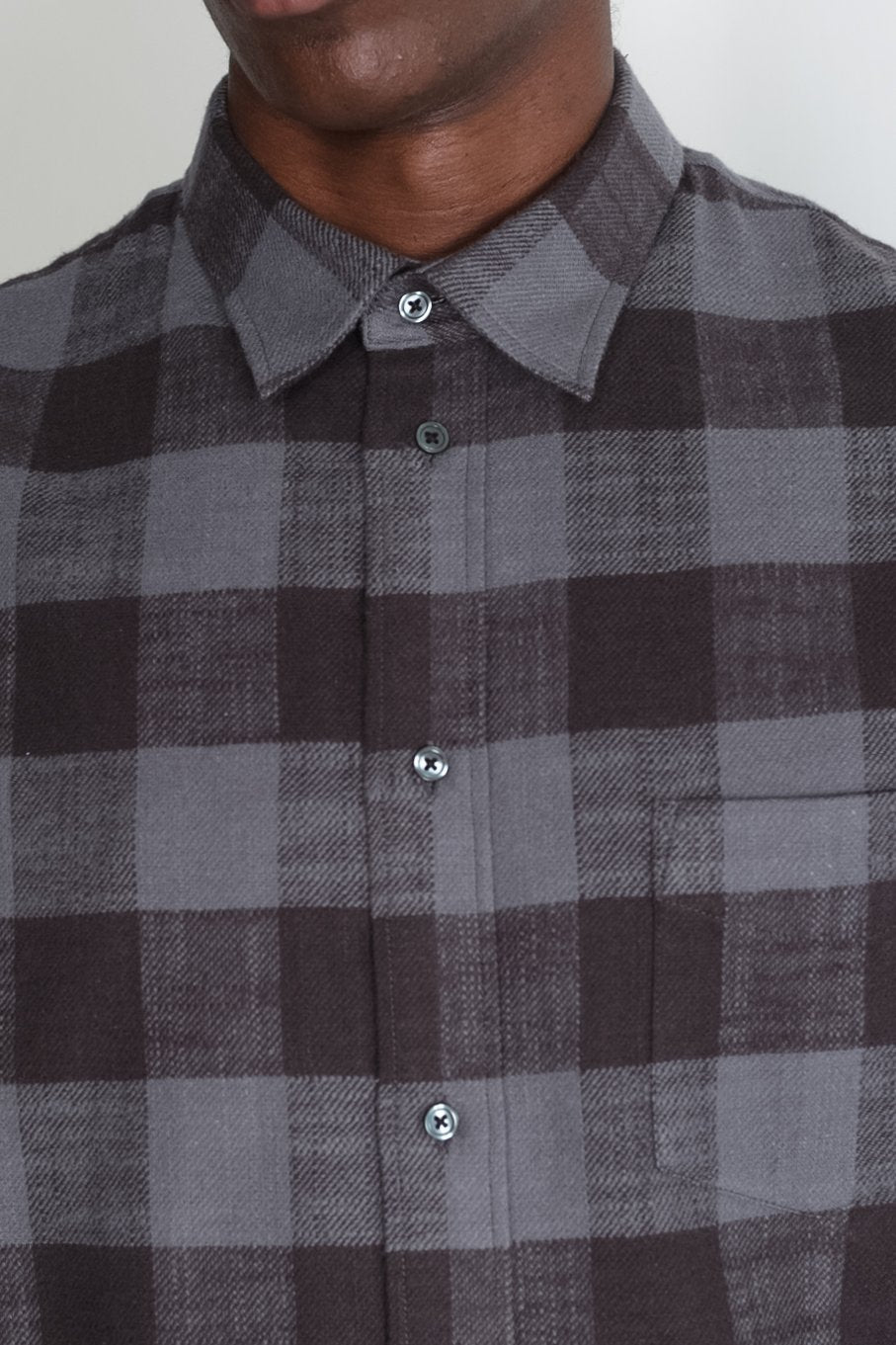 Japanese Buffalo Plaid in Grey and Black 05