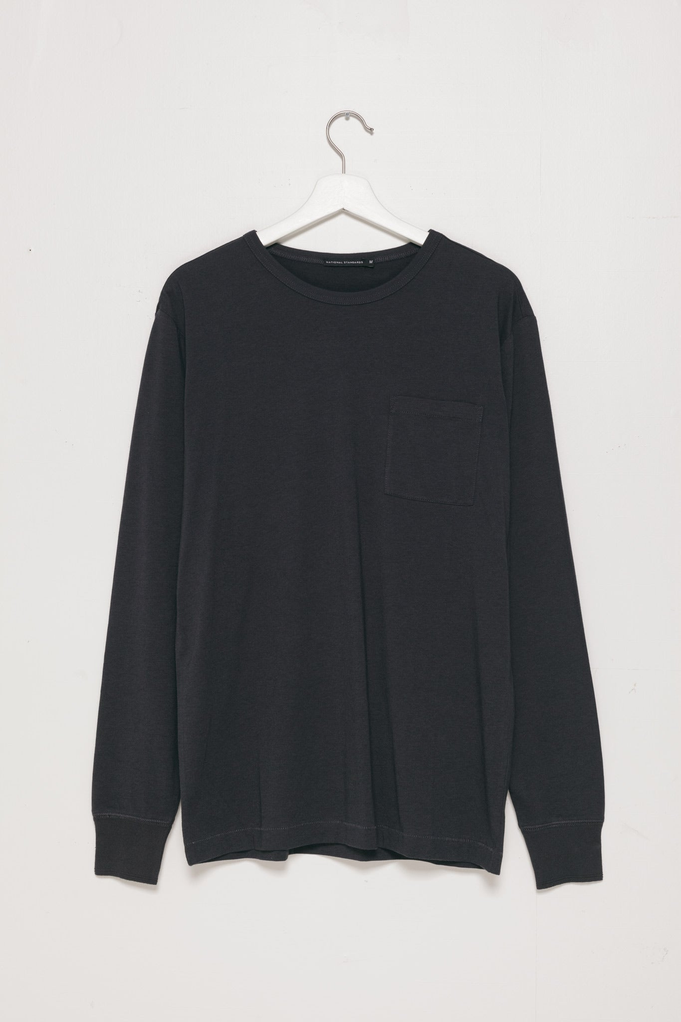 Base Jersey Crew Neck in Slate Grey