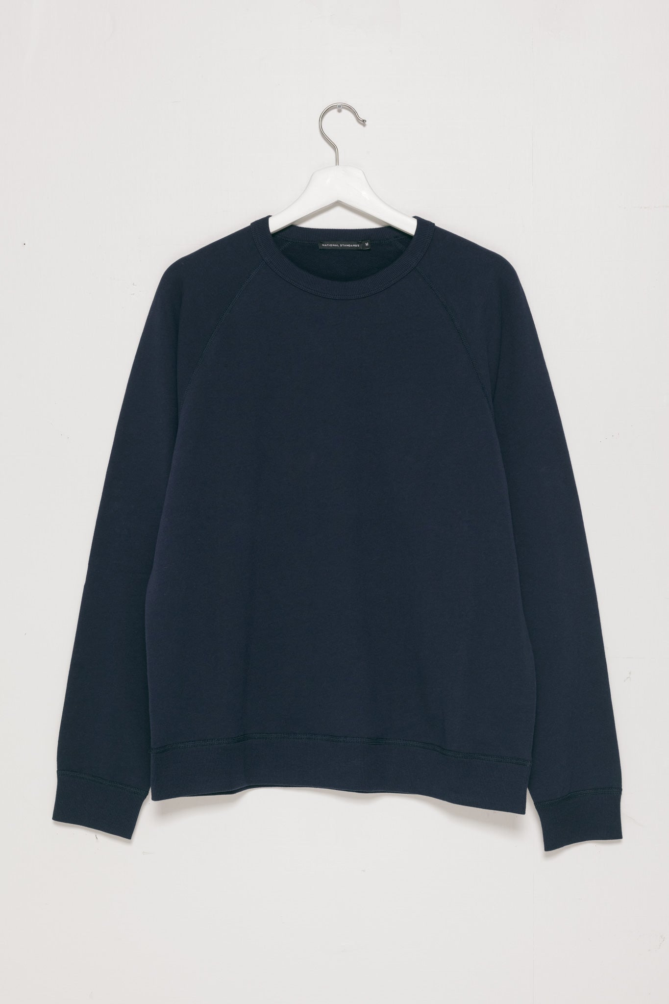250gm French Terry Raglan in Navy