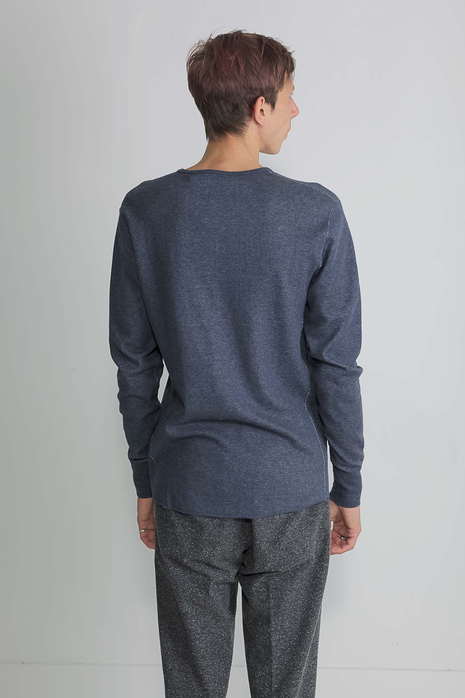 mesh thermal henley in navy 03