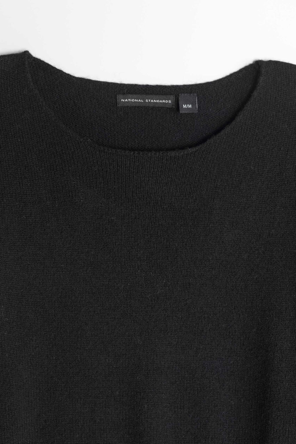 Lambswool Wide Neck in Black 02