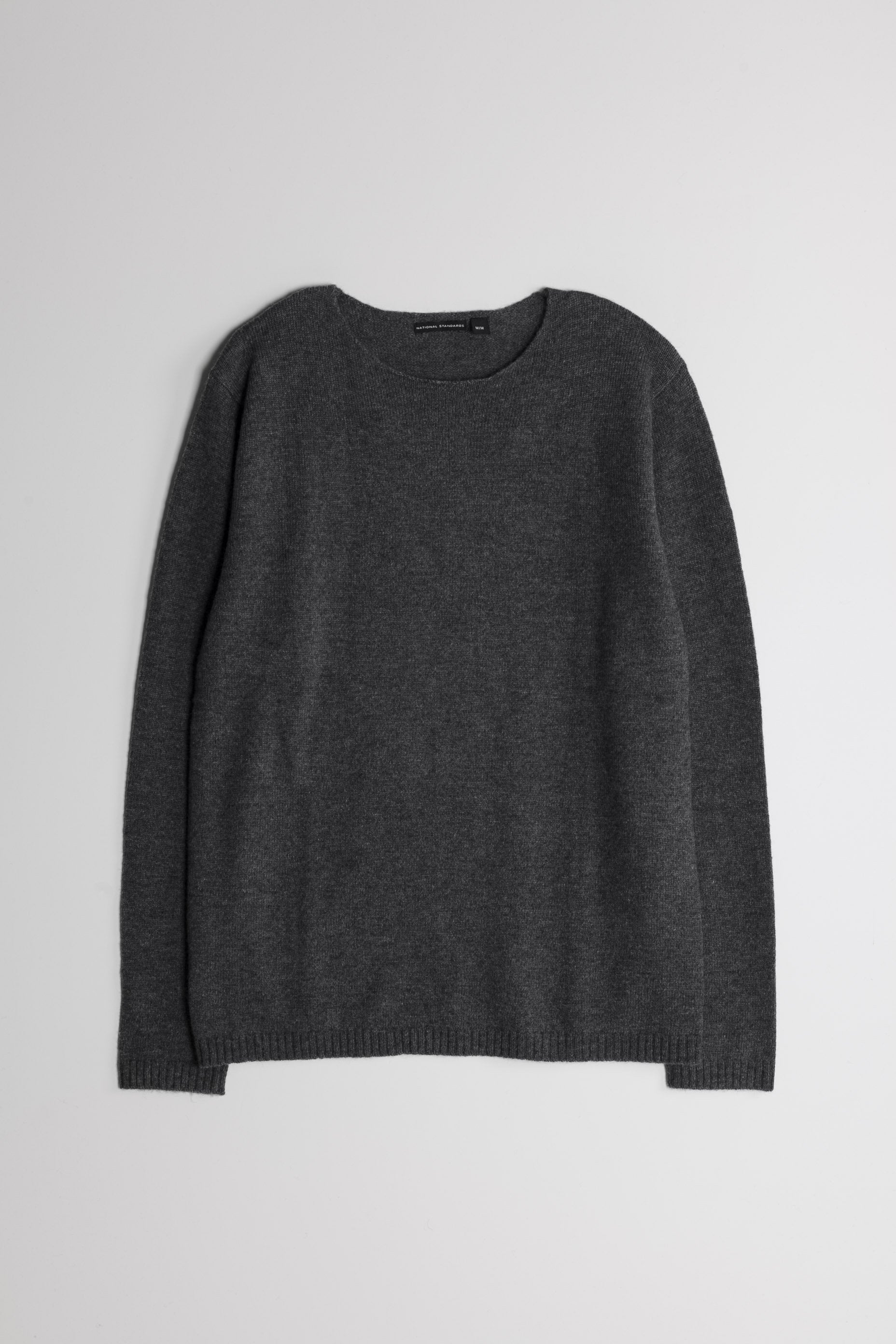 Lambswool Wide Neck in Grey 01