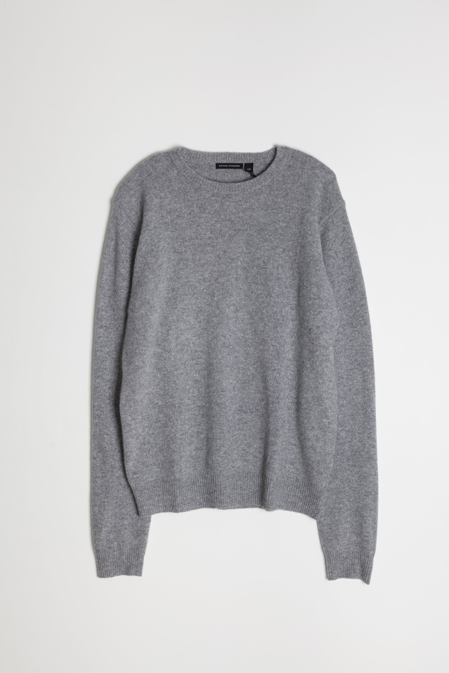 New Wool Crew Neck in Black 06