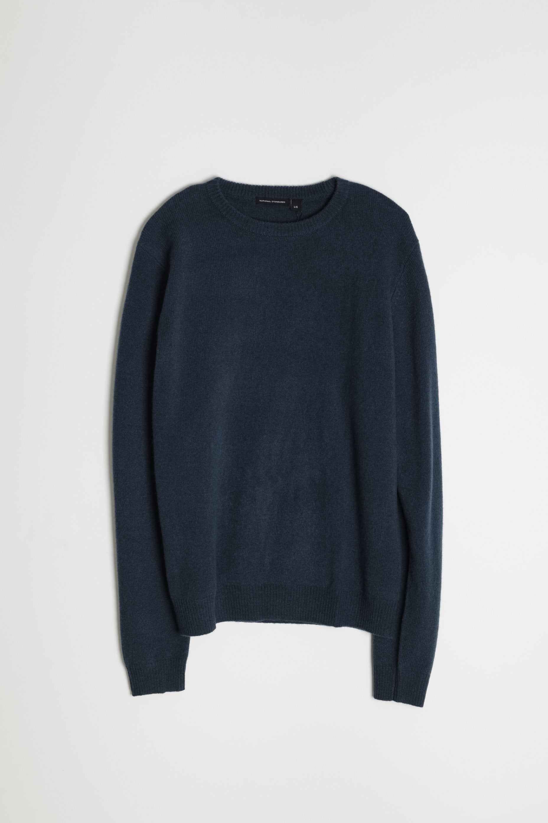 New Wool Crew Neck in Blue 05