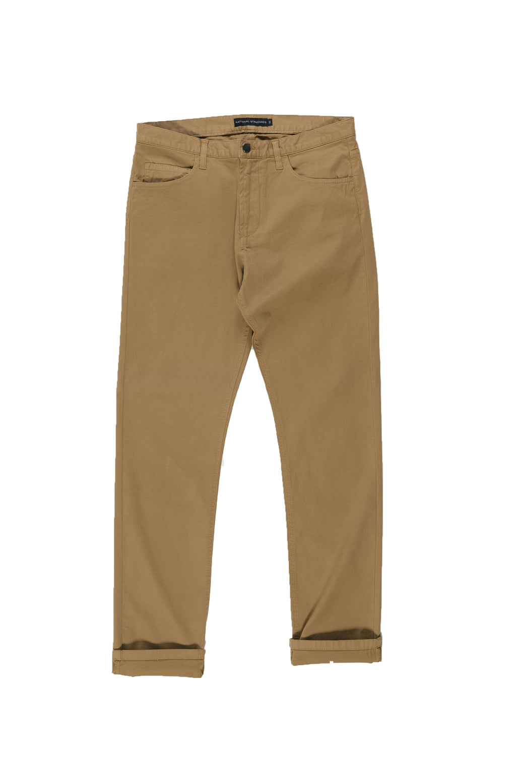 Stretch 5 pocket in Camel