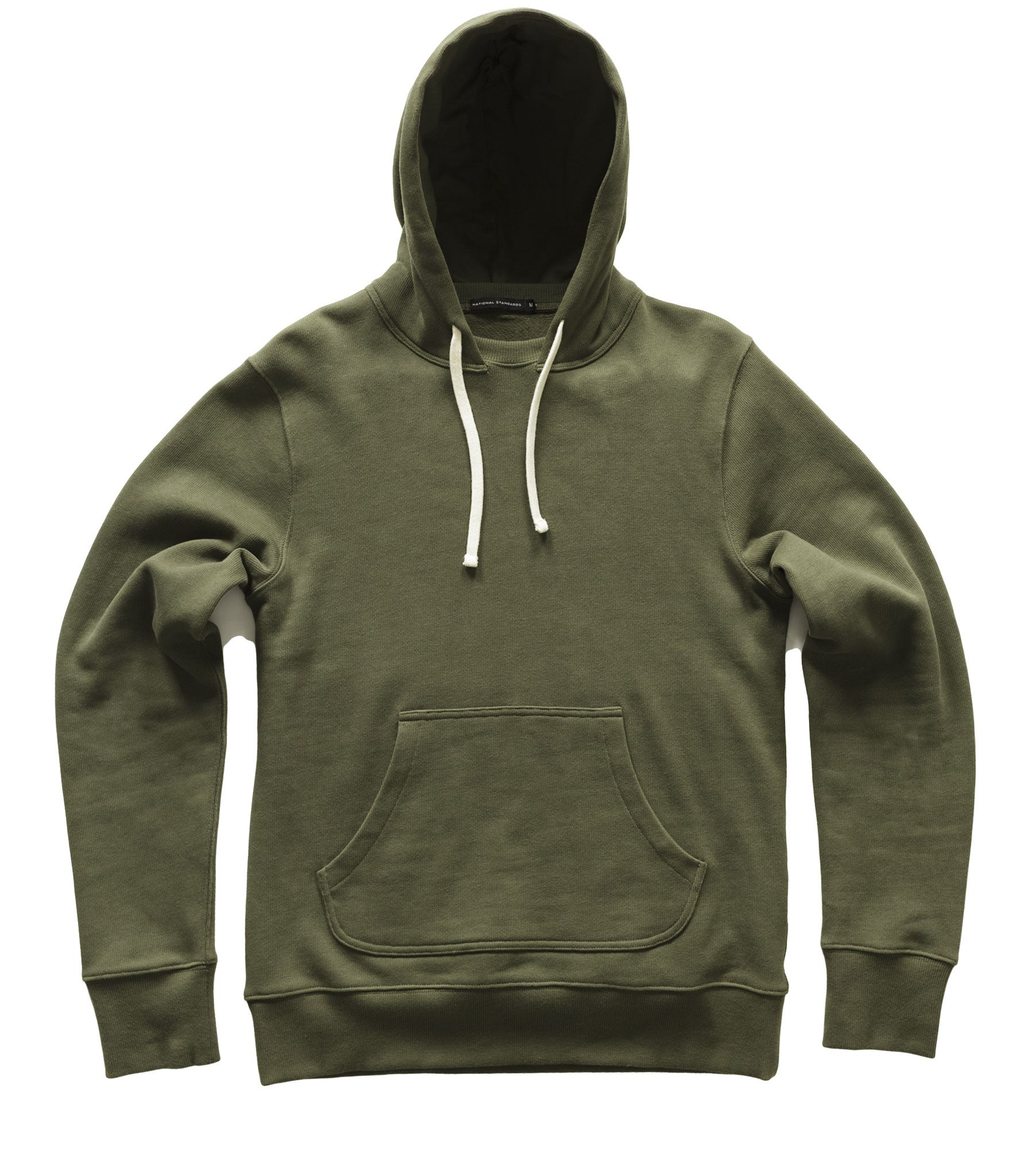 Pullover hoodie in Green