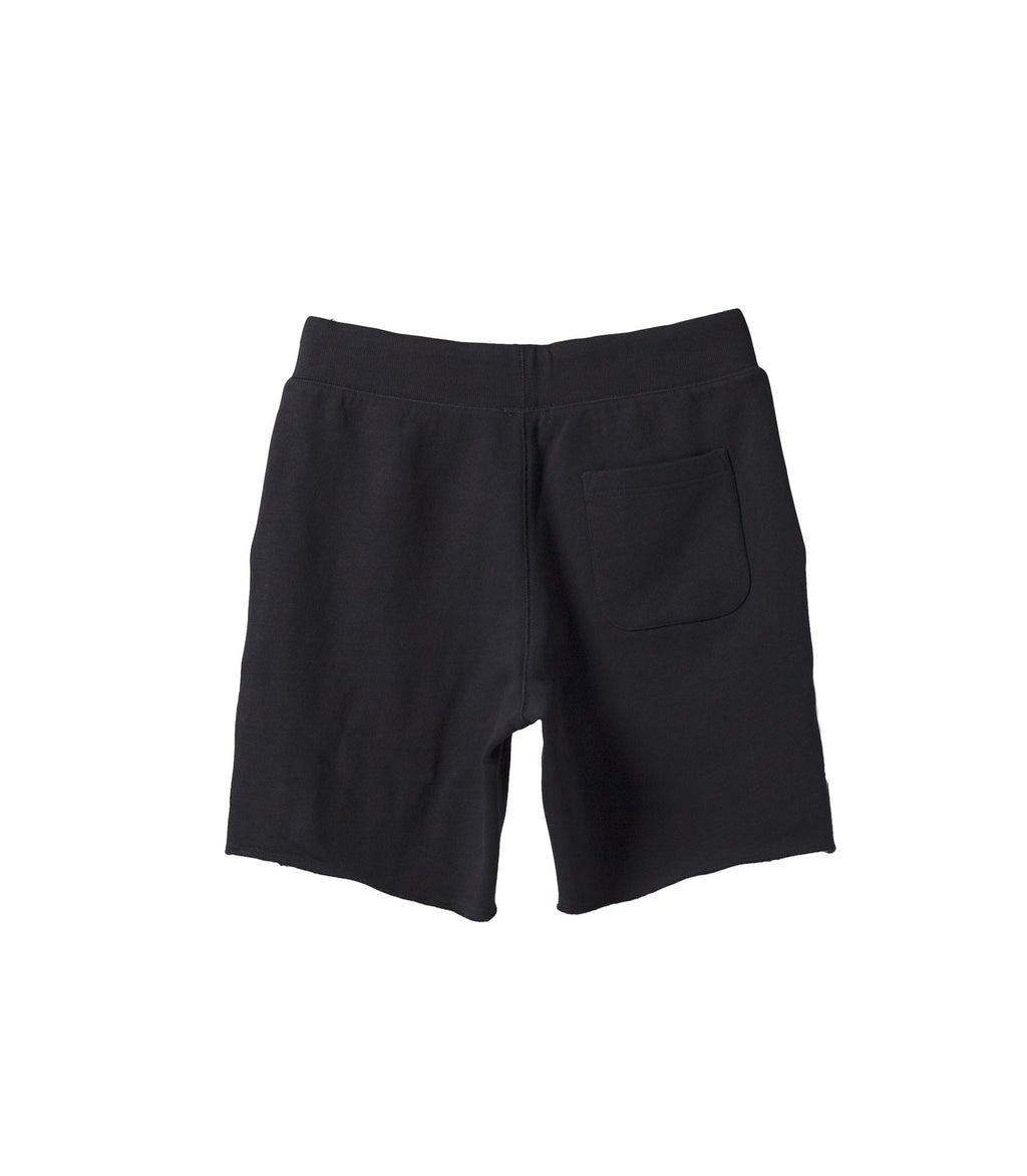 French Terry Drawstring Shorts Navy NS1131-2