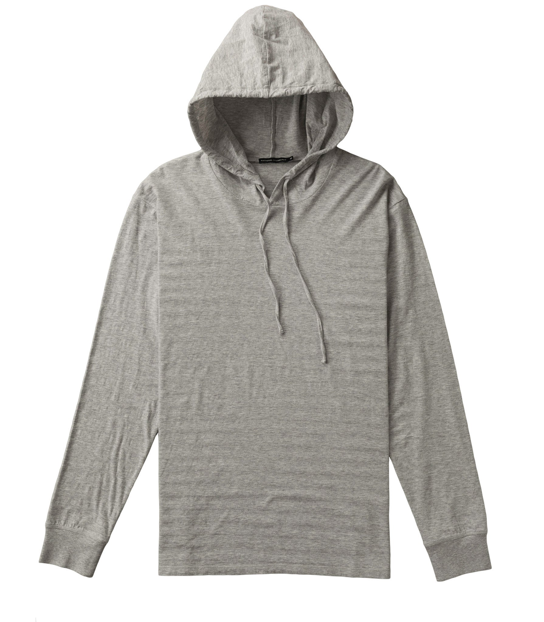 Shadow stripe hoodie in Grey
