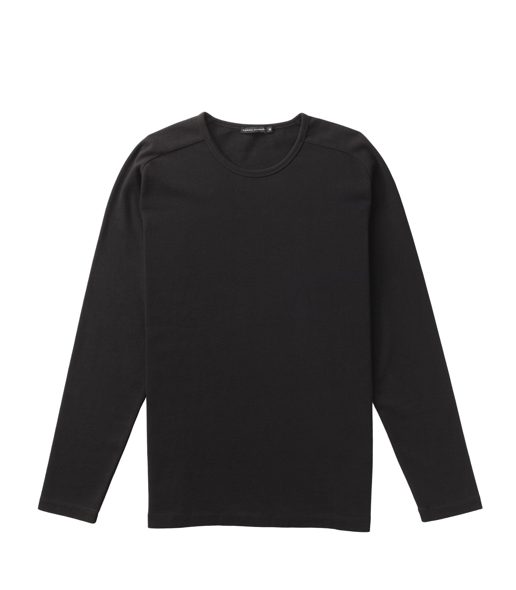 Supreme cotton raglan crew in Black