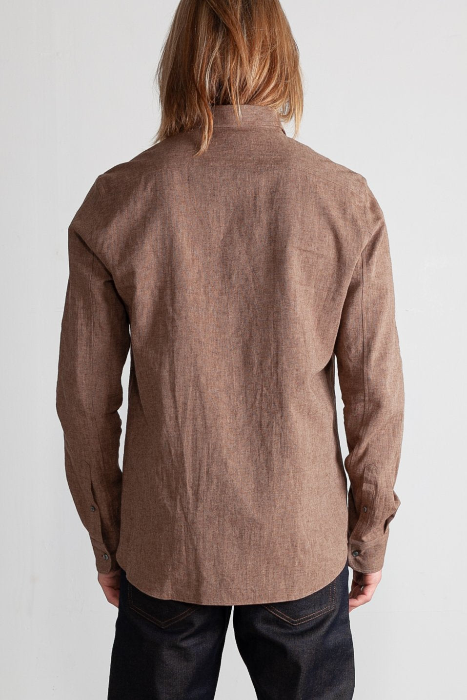 Japanese Euro Linen in Brown 04