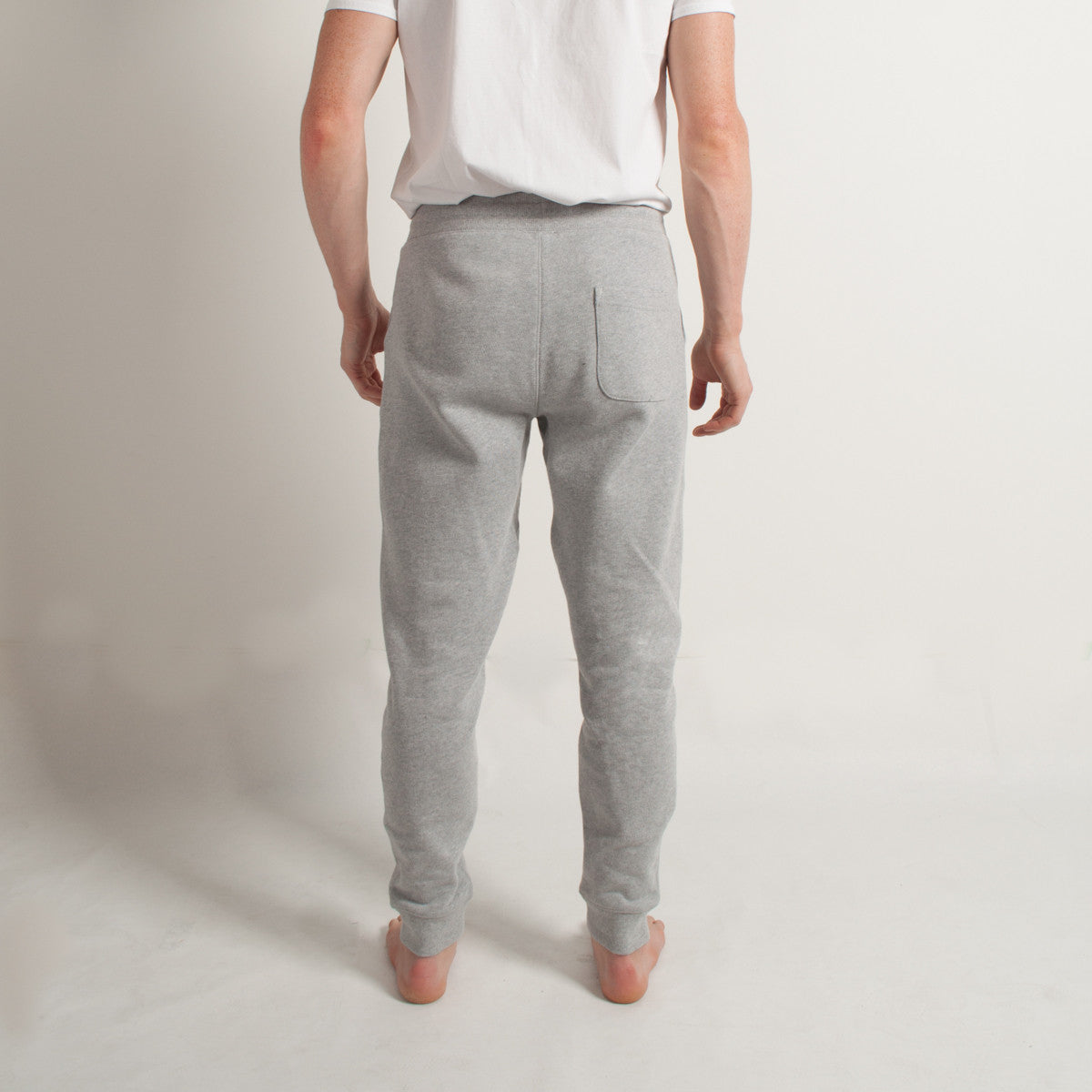 French Terry Sweatpant Melange Grey