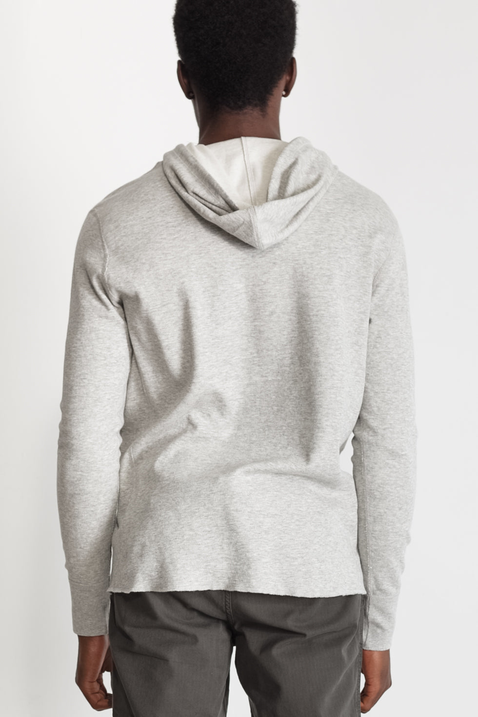 mesh thermal hoodie in grey 03
