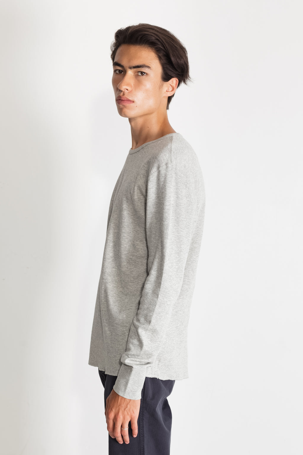 mesh thermal crew in melange grey 01