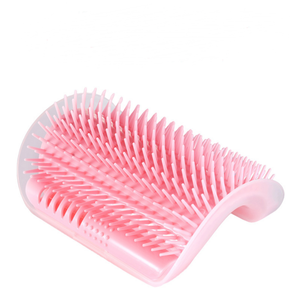 Chat J'adore brosse Rose Brosse Auto-Toilettage Chat + Cataire