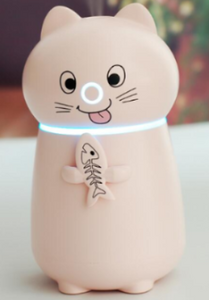 Chat J'adore humidificateur d'air Rose Humidificateur d'Air Chat et Poisson