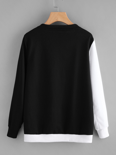 Chat J'adore Sweat S Pull / Sweat-Shirt Chat Yin Yang