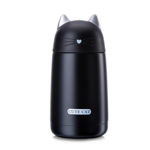 Chat J'adore thermos Noir Superbe Thermos Chat