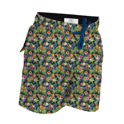 Boy's Swim Trunks Aloha