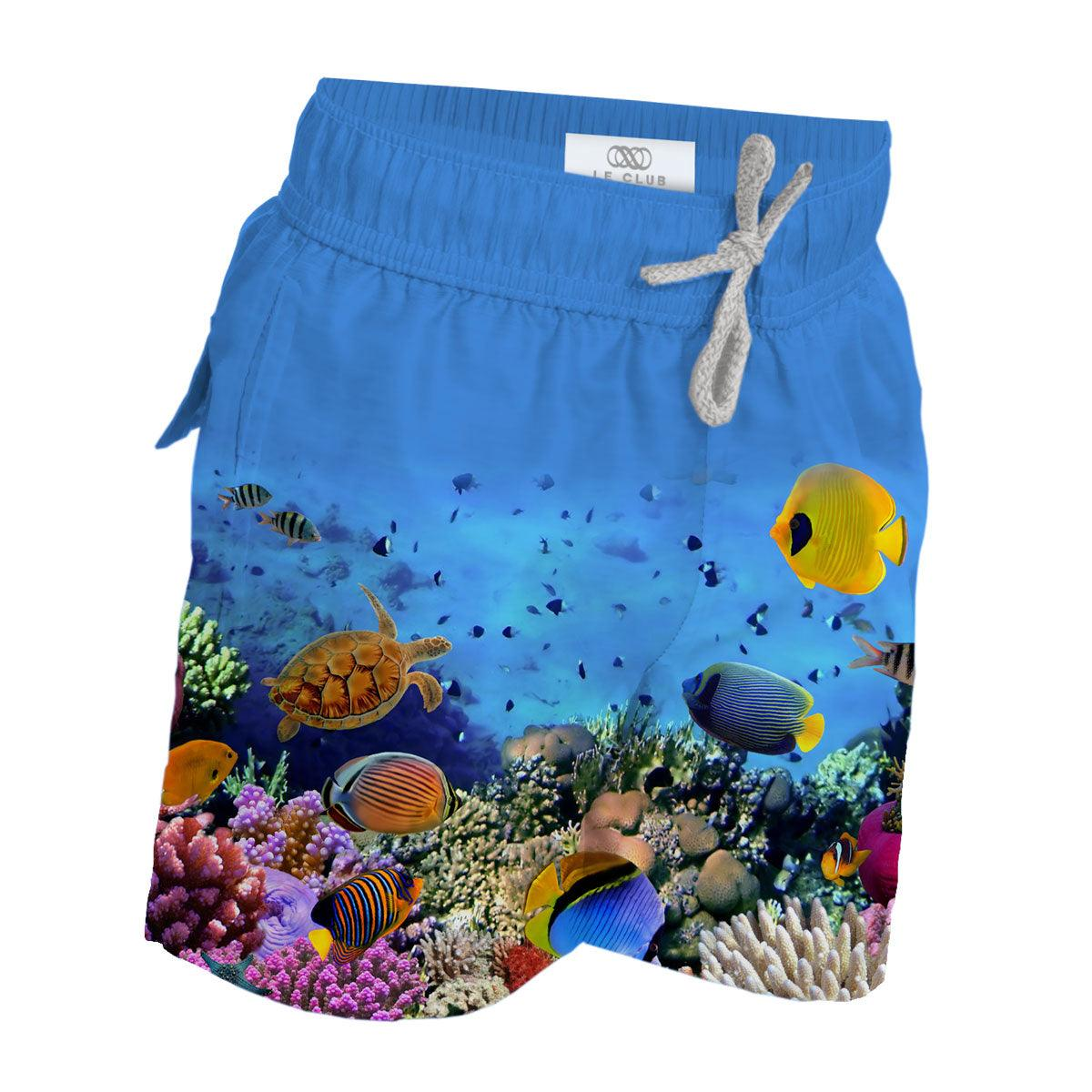 Boy's Swim Trunks Aquarium