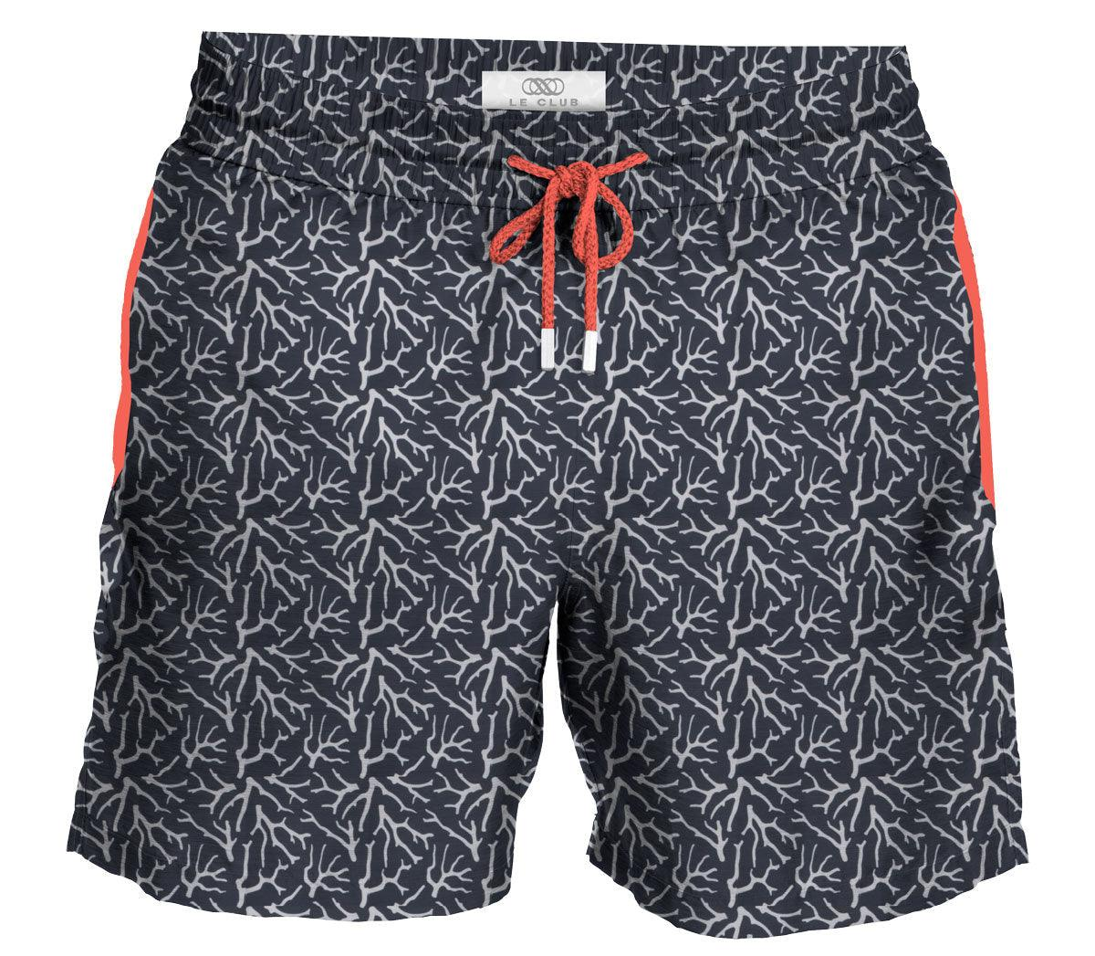 Men's Swim Trunks Coral