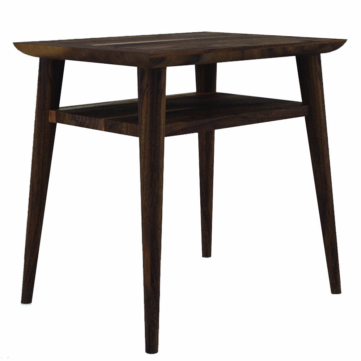 Vintage Side Table Nightstand P13524 by Ion Design Luxe Wood