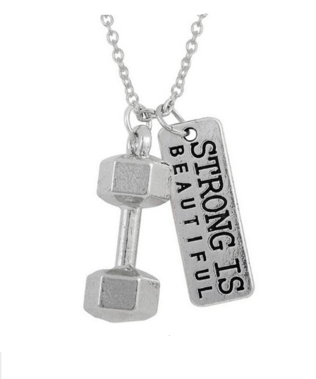 Pendant Necklace Fitness Fashion Sports Jewelry
