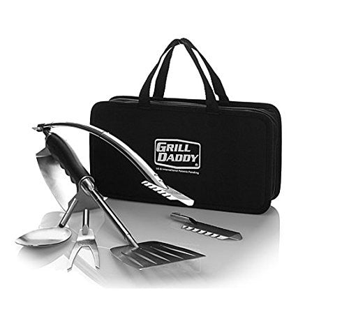 Grill Daddy BBQ Tool 6-in-1 Tailgate Set