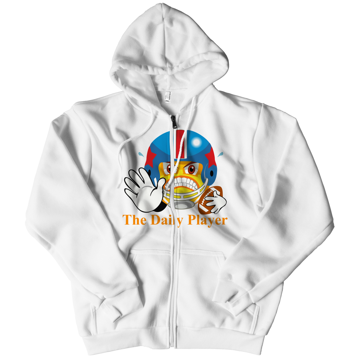 Snarky McSnarkerson Zip-Up Hoodie