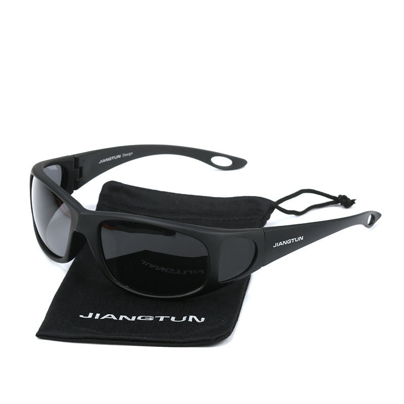 Polarized Sunglasses Side Window Design