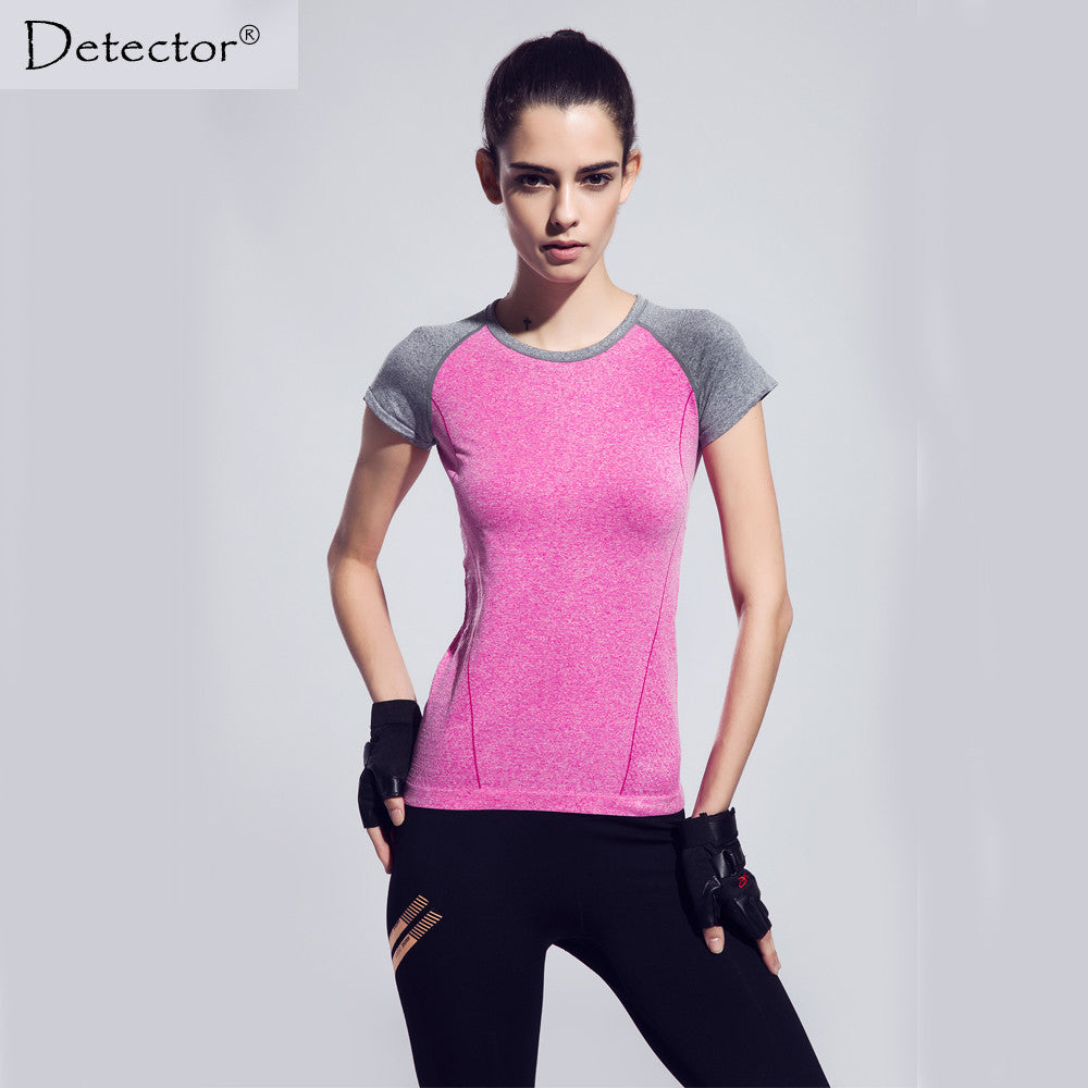 Detector Compression Fitness Women T-shirts