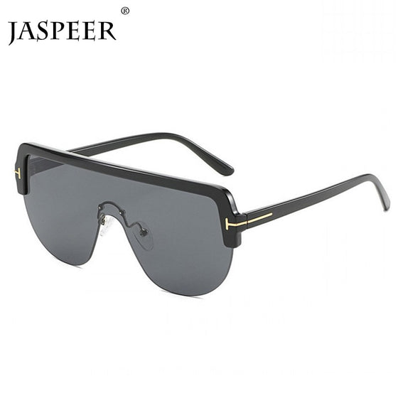 Oversize Flat-Top Polarized Luxury Shades