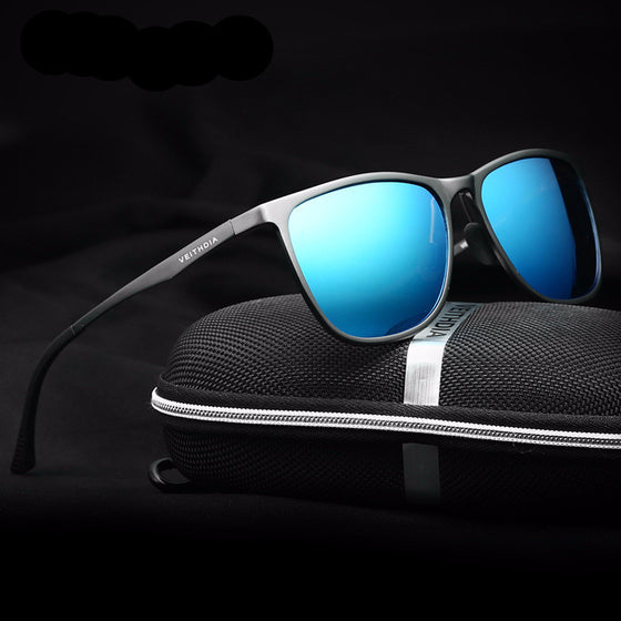 Retro Aluminum Magnesium Brand Men's Sunglasses