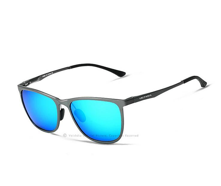 Retro-Cool Polarized Mirrored Aluminum Magnesium Sunglasses