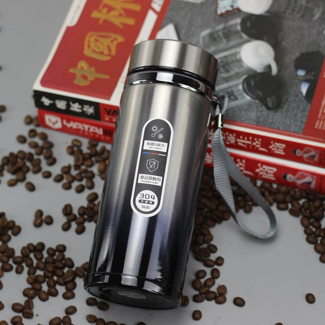 High-Capacity Insulated Stainless Steel Vacuum Flask Tumbler - 1.2l; 1.5l; 2.0l