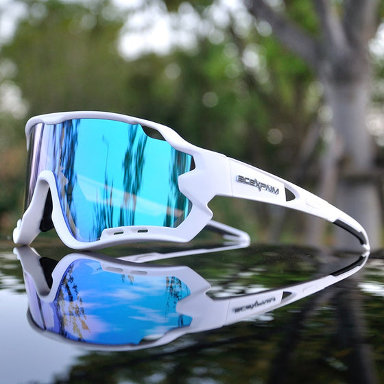 Coated Full Mirror Shades for Cyclers of All Kinds and Cool Dudes in General