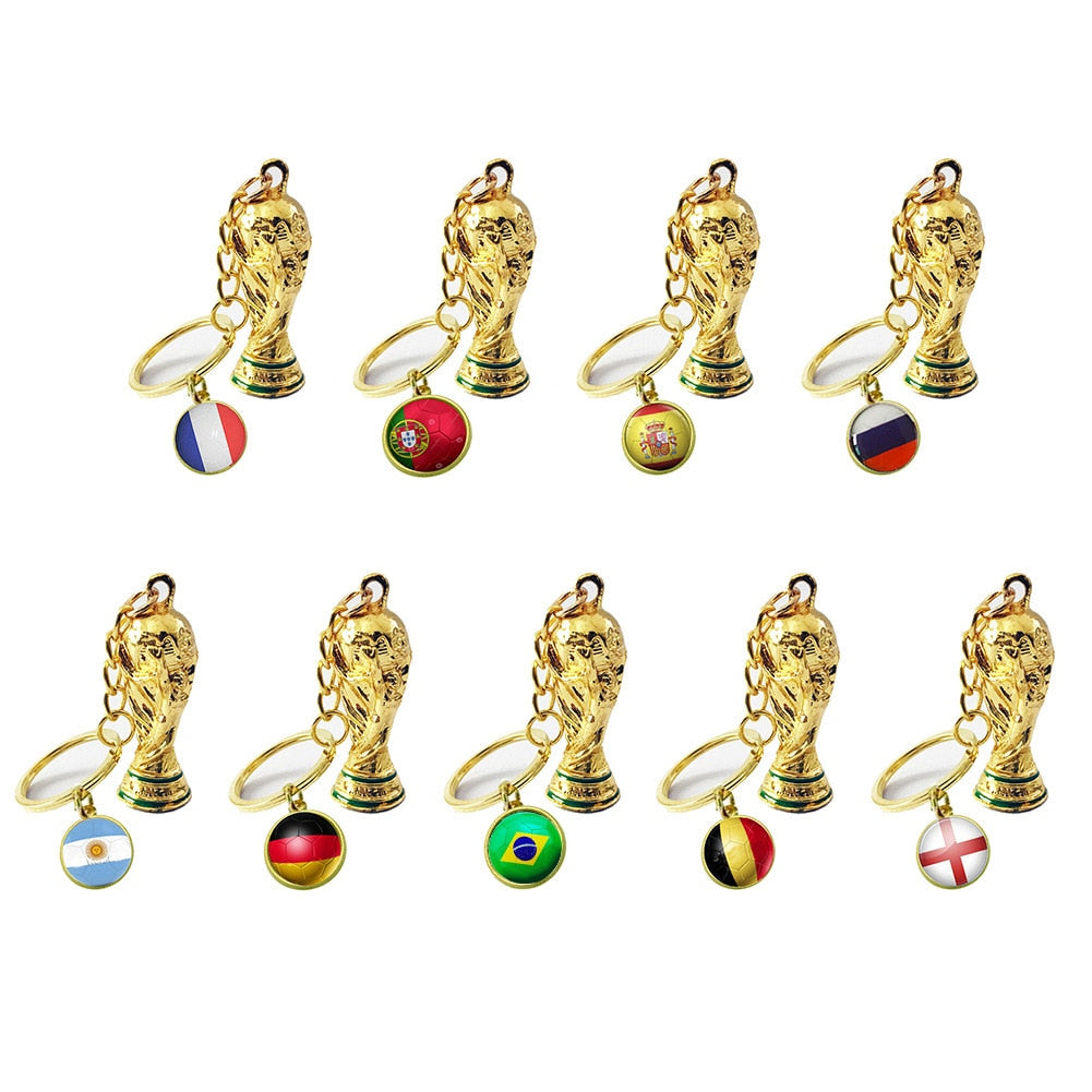 World Cup Champion Keychain