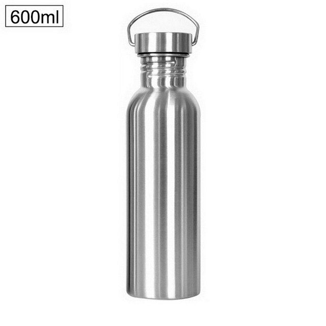 Insulated Vacuum Stainless Steel Water Bottles - 5 Sizes