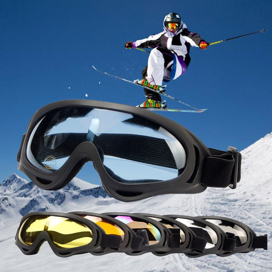 Dustproof Skiing, Snowboarding, and/or Biking Sun Goggles