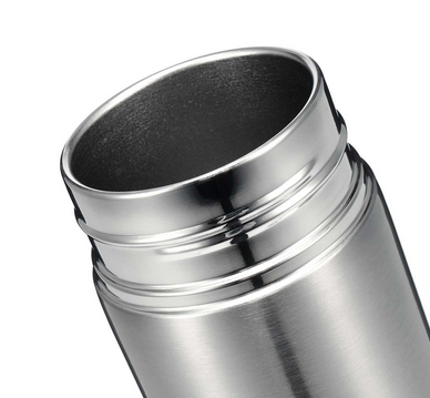 Alkaline-Filtered Stainless Steel Mug w Electrolytic Energy Cup