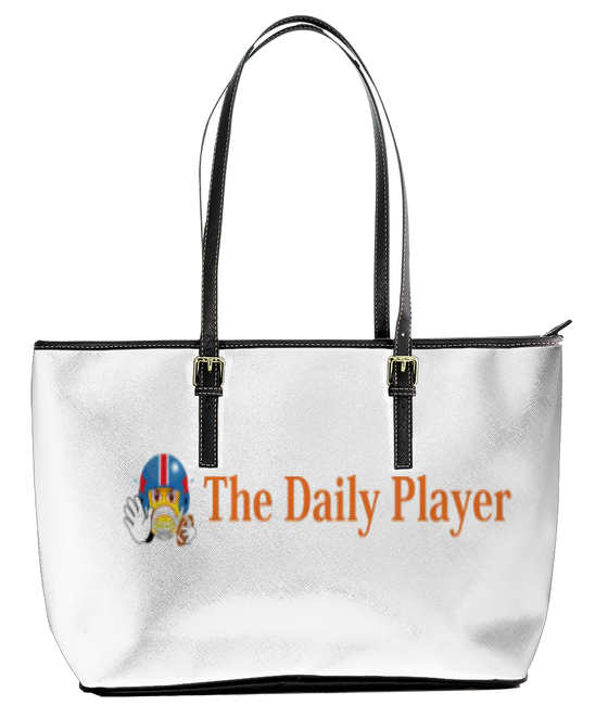 Daily Player Leather Tote Bag