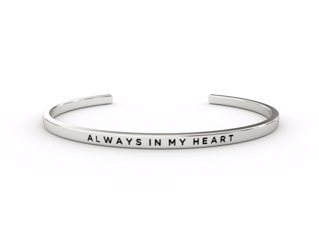Always In My Heart   deltaband Bracelet by Delta & Co