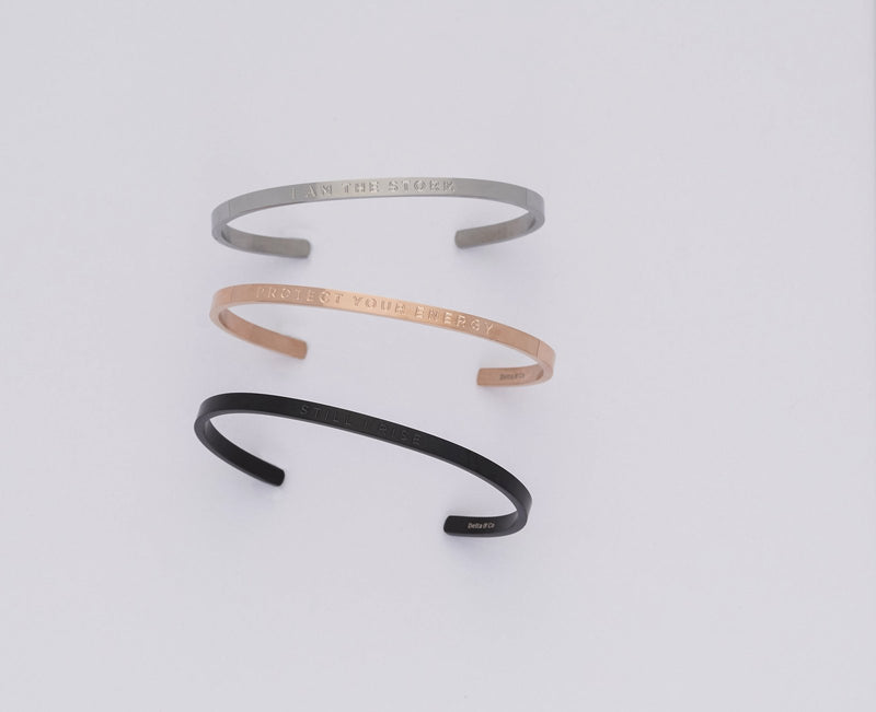 All I Need is Within Me - Clear   Delta & Co Bracelet by Delta & Co