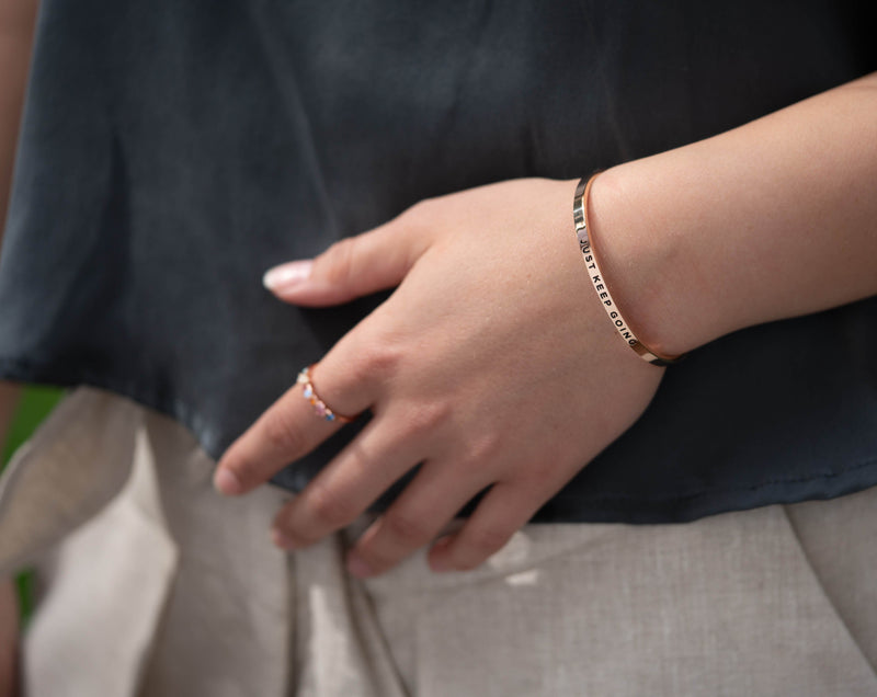 La Vie Est Belle (life is beautiful)   Delta & Co Bracelet by Delta & Co