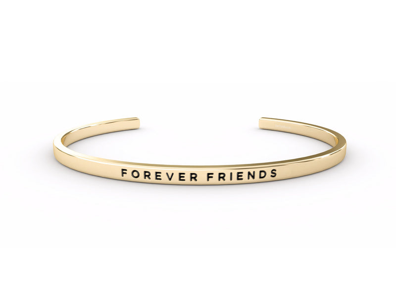 Forever Friends  Gold Delta & Co Bracelet by Delta & Co