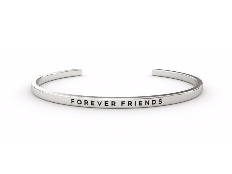 Forever Friends  Silver Delta & Co Bracelet by Delta & Co